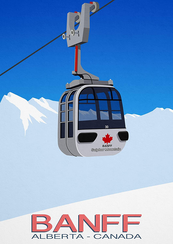 Banff Ski Resort Poster