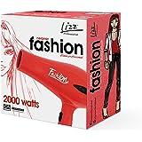 Secador Fashion Vermelho, Lizz Professional, 110V, 2000W