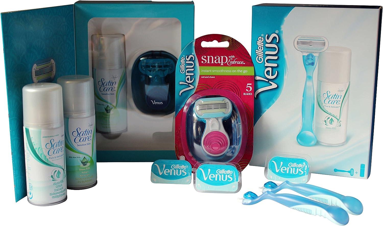 Gillette Venus Mujeres Regalo Paquete De Piel Sensible – 4 ...