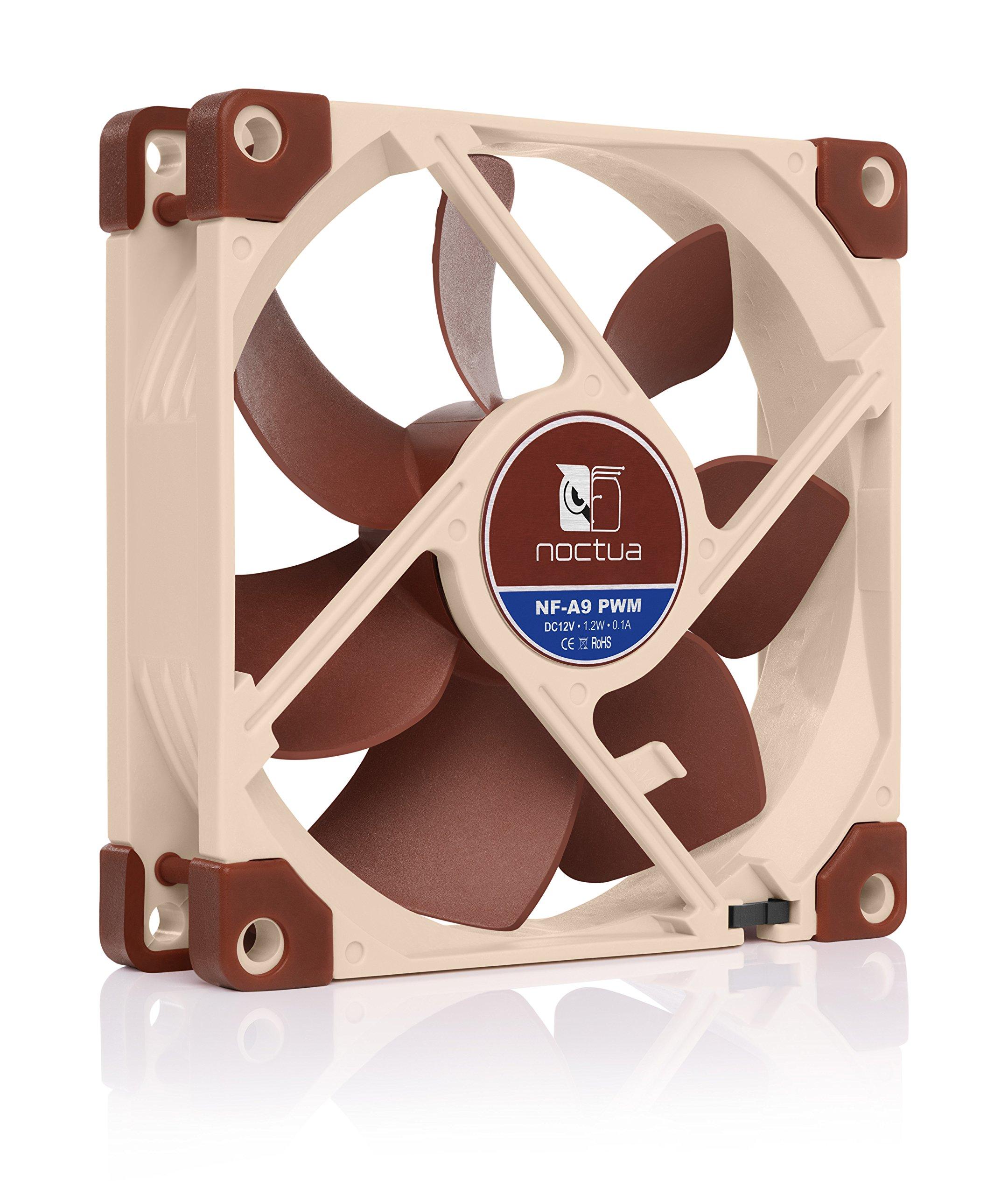 Noctua AAO Frame Design SSO2 Bearing Quiet Fan(NF-A9 PWM) by noctua (Image #2)