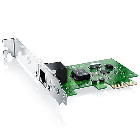 CSL-Computer Tarjeta LAN de red PCIe Gigabit (PCI-E PCI ...