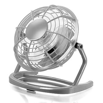CSL - USB Ventilador   mini ventilador de mesa / fan   PC / portátil   en antracita: Amazon.es: Electrónica
