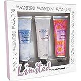 aldo VANDINI Set Handpflege to go Edition II - Geschenkset mit 3 Handcreme 30 ml, 1er Pack (1 x 90 ml)
