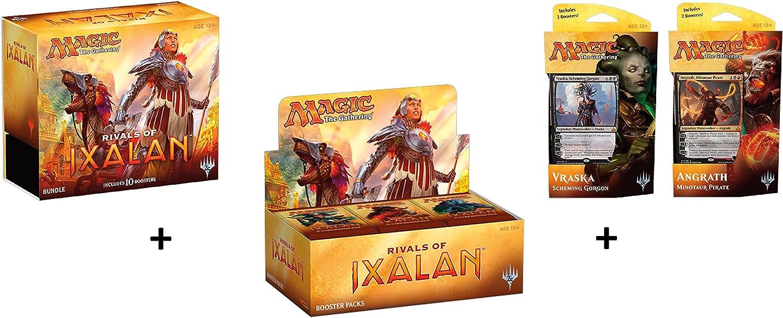 Wizards of the Coast Rivales de Caja Ixalan Booster + Paquete (Paquete Grasa) + ambas bandejas Planeswalker! MTG Variedad Pack coleccionistas: Amazon.es: Juguetes y juegos
