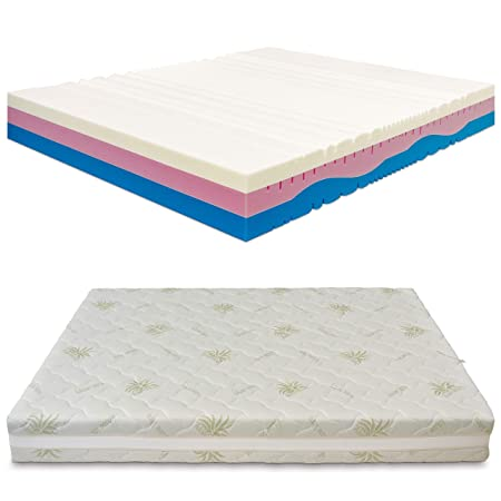 Materasso Memory Foam Baldiflex.Baldiflex Double Memory Melody 3 Layers Mattress 160 X 190 Cm High