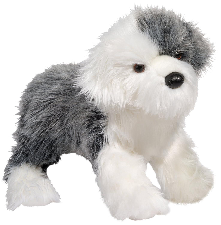 Cuddle Toys 1855 Willard Sr. ENGLISH SHEEPDOG Old English Sheepdog Bobtail Altenglischer Schäferhund Hund grau/weiß Kuscheltier Plüschtier Stofftier Plüsch Spielzeug Display Deko