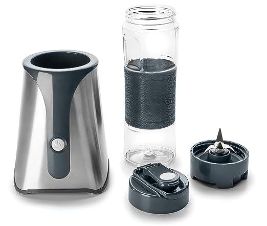 Lacor Mix & Go Batidora Personal, 350 W, 0.6 litros, Vidrio, Blanco: Amazon.es: Hogar