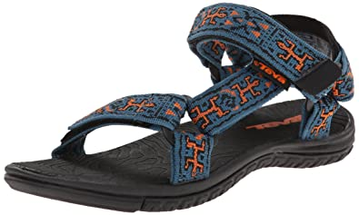 fa27cfac3 Teva Unisex Kids Hurricane 3 Sandals Blue Size  5-6 Child  Amazon.co ...