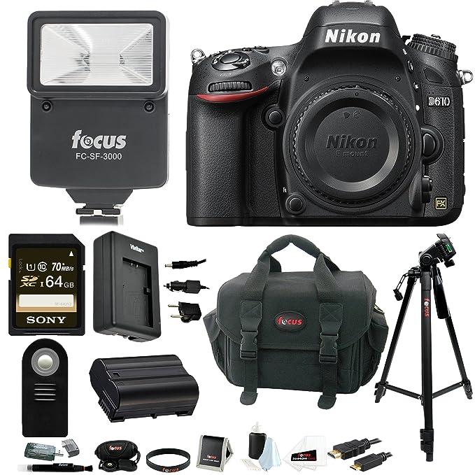 Review Nikon D610 FX-format DSLR
