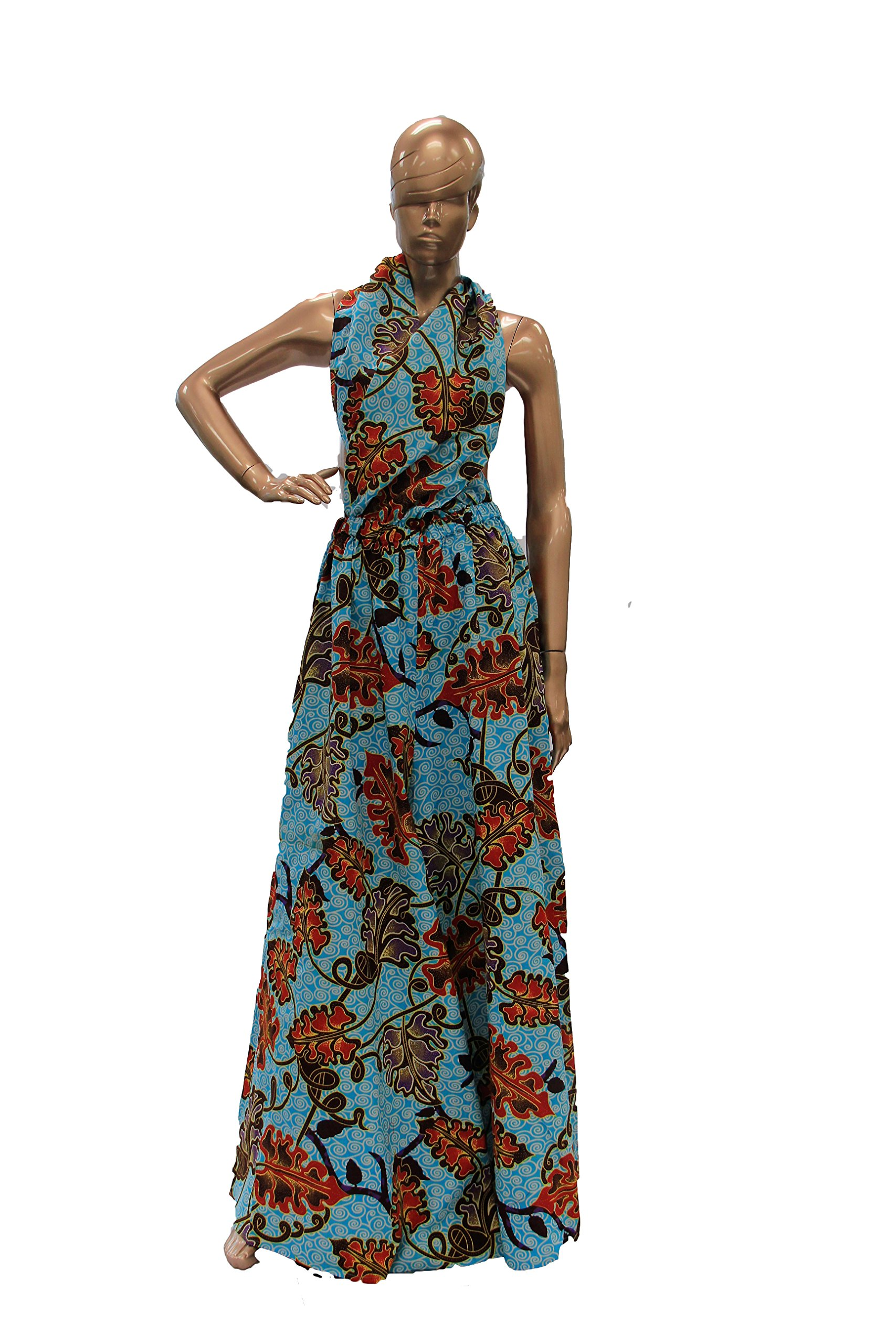 NF African Print Jump Suit-One Size (Print - 2)