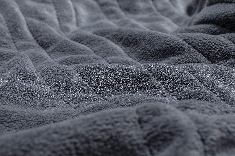 180 x 130 cm Certifi/é au standard T/ÜV S/ÜD GS gris sinnlein/® Chauffe-lit Surmatelas Chauffant Affichage digital 9 Niveaux de Temp/érature Couverture /Électrique avec Arr/êt Automatique