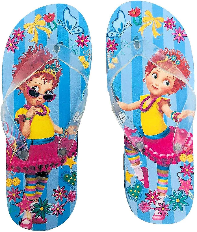Fancy Nancy Girls Flip Flops Blue