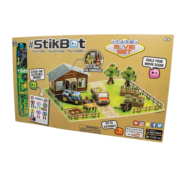 Zing #Stikbot Movie Set FARM EDITION