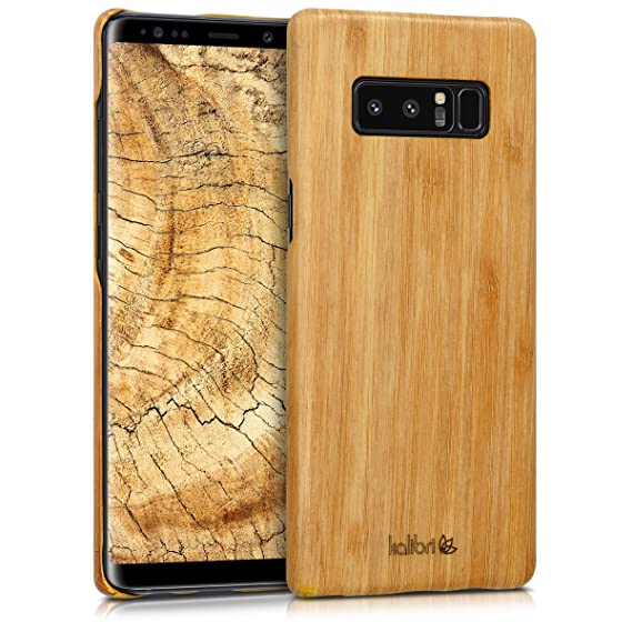 bd472b2909f Image Unavailable. Image not available for. Color  kalibri Wood Case  Compatible with Samsung Galaxy Note ...