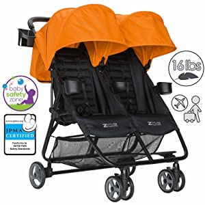 ZOE XL2 BEST Double Xtra Lightweight Twin Travel & Everyday Umbrella Stroller System