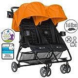 Amazon Price History for:ZOE XL2 BEST Double Xtra Lightweight Twin Travel & Everyday Umbrella Stroller System (Orange)