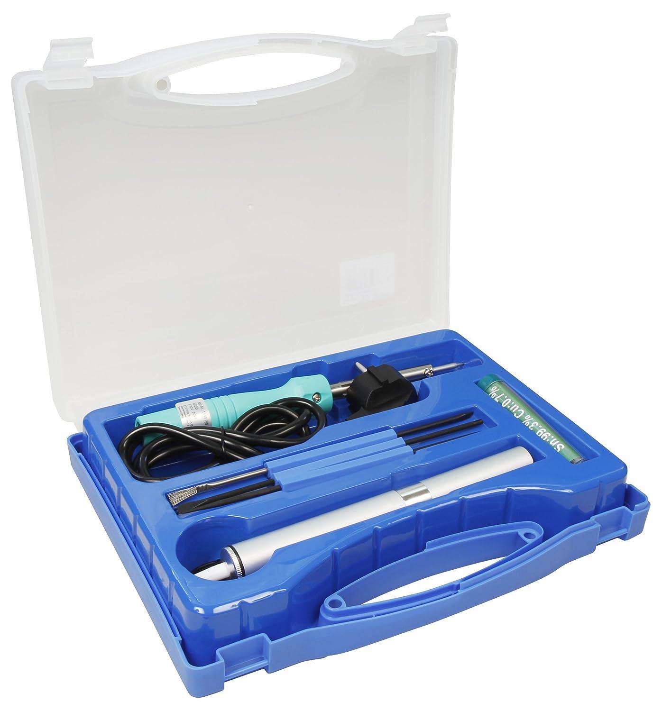 McPower lötset LK de 3, maletín de plástico, 7 Piezas, Incluye 230 V/30 W de Soldador: Amazon.es: Electrónica