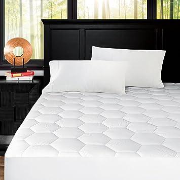 Amazon.com: Zen Bamboo Ultra Soft ed Bamboo Mattress Pad ... on