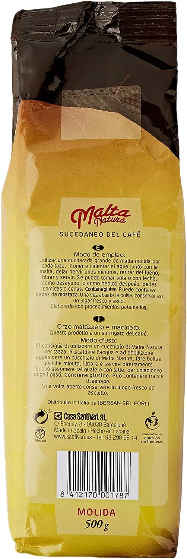 Santiveri Malta Molida 500 Gr. 200 g: Amazon.es: Alimentación y bebidas