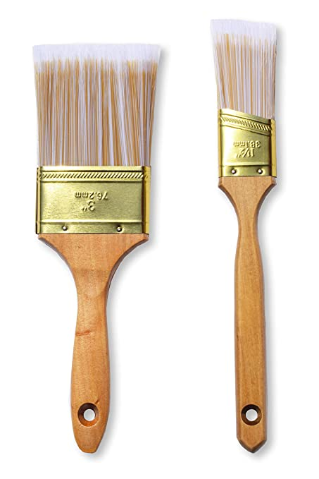 Amazon Com The Shop 1220 Large Flat Paint Brush And Cutting Brush