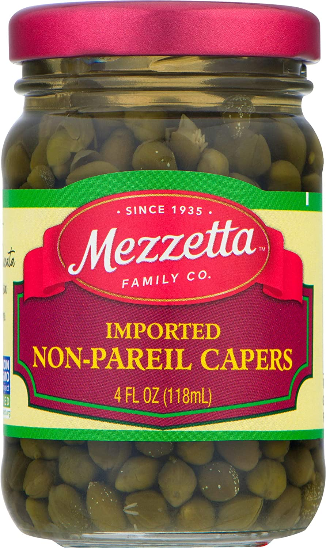 Mezzetta Non-Pareil Capers, Imported Gourmet, 4 Ounce