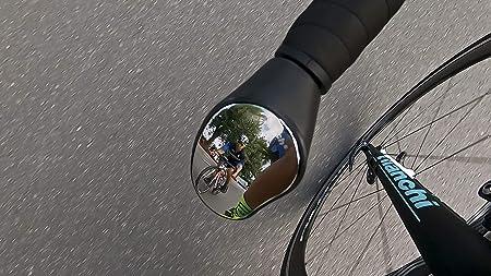 Safety Bicycle Mirror Single... Sprintech Road Drop Bar Rearview Bike Mirror