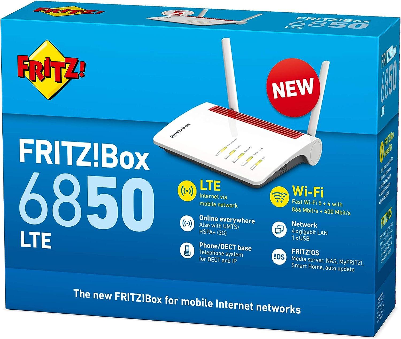 Avm Fritz Box 6850 Lte International 5 Ghz2 4 Ghz Computer Zubehör