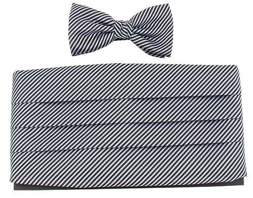 Knightsbridge Neckwear / Plata Corbata Pajarita y Conjunto faja ...