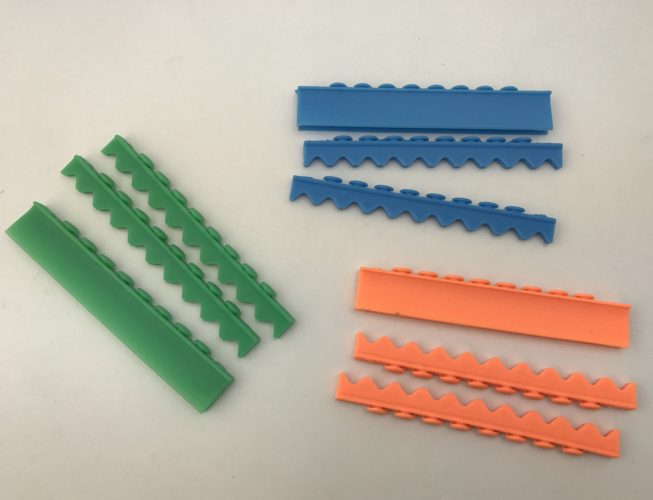 3sets Silicone for 10 Instruments Dental Surgical Sterilization Cassette Tray Racks