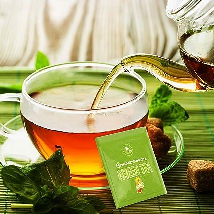 Organic Green Tea - Variety Pack - 80 Tea Bags