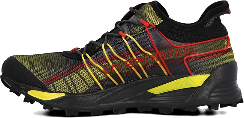 La Sportiva Mutant, Zapatillas de Trail Running Unisex niño, Negro (Black 000), 37.5 EU: Amazon.es: Zapatos y complementos