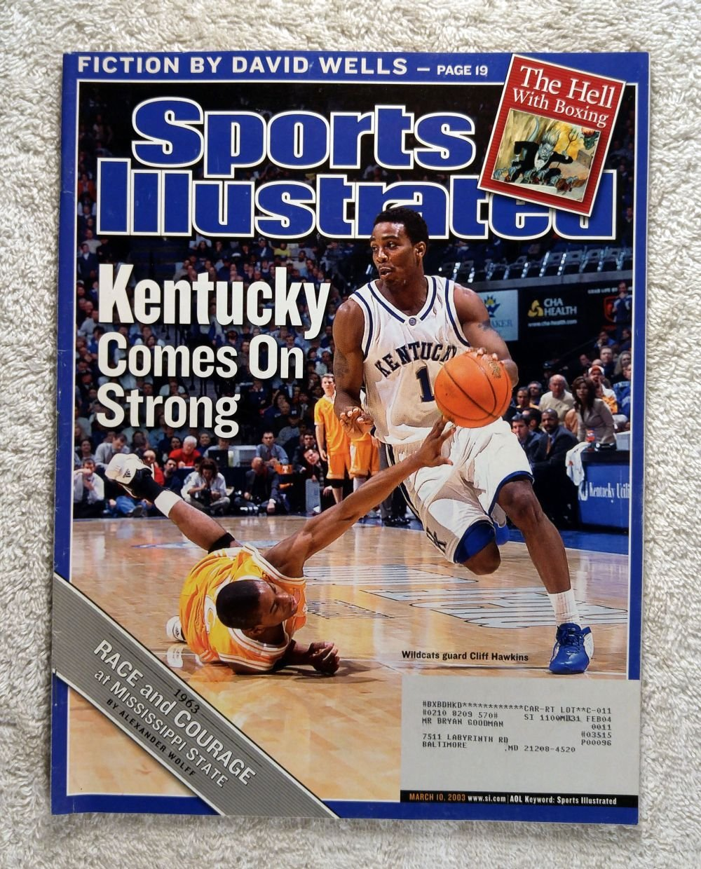 Cliff Hawkins - Kentucky Wildcats - Kentucky Comes On Strong