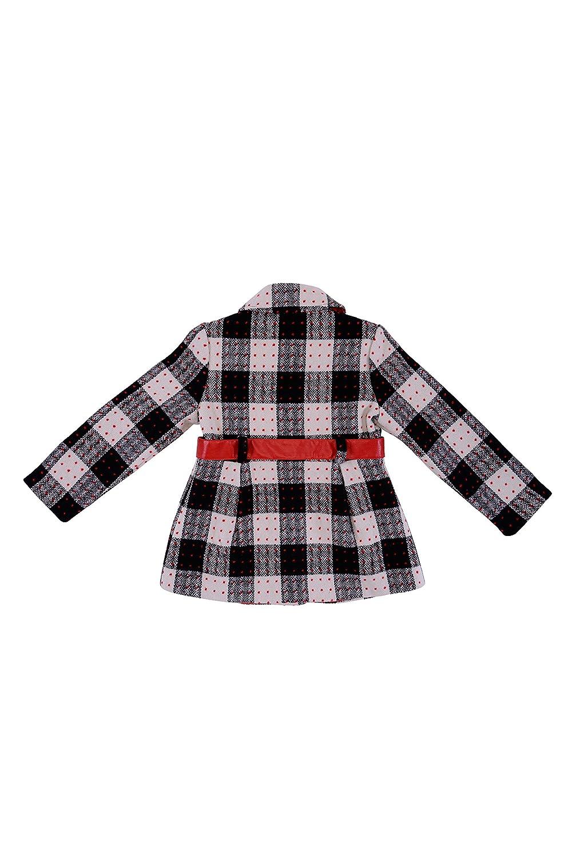 b779175fc Amazon.com: Biscotti Girl's 2-6X School Of Rock Plaid Coat - Size 4, Black:  Clothing