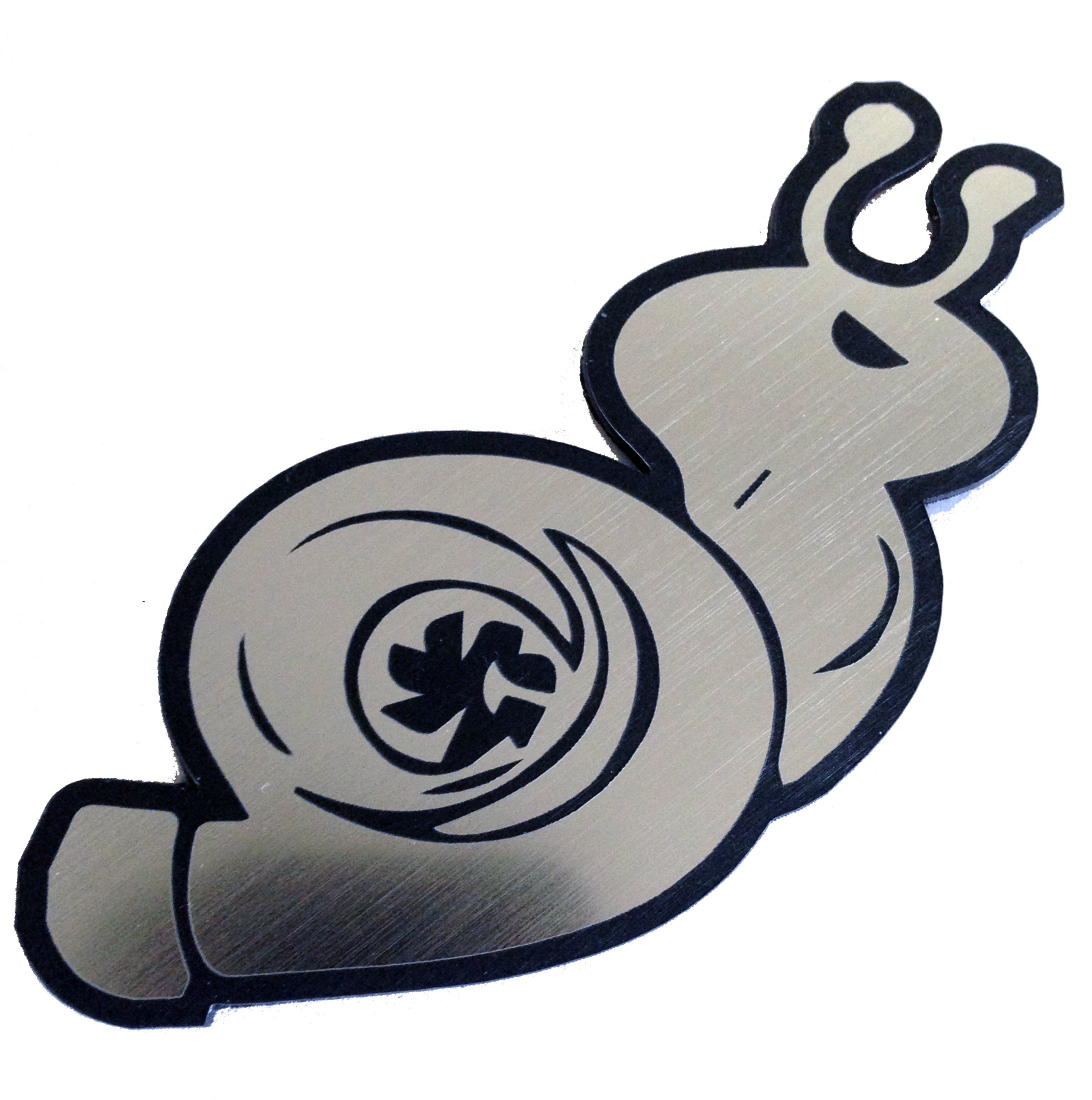 Keen JDM Boosted Snail Decal Turbo Turbocharger Boost PSI Vinyl Sticker 5 X 4 in Decal