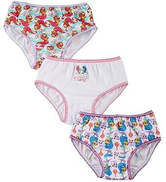 ee96083512 Amazon.com  Shimmer and Shine Girls Underwear