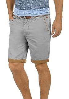 491f2e827e5322 Blend Neji Herren Chino Shorts Bermuda Kurze Hose Mit Gürtel Aus 100% Baumwolle  Regular Fit