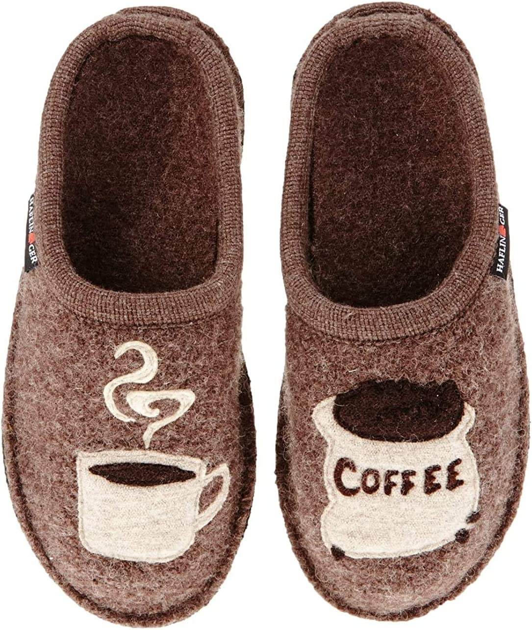 Haflinger Men's 313039 Slipper, Earth, 9
