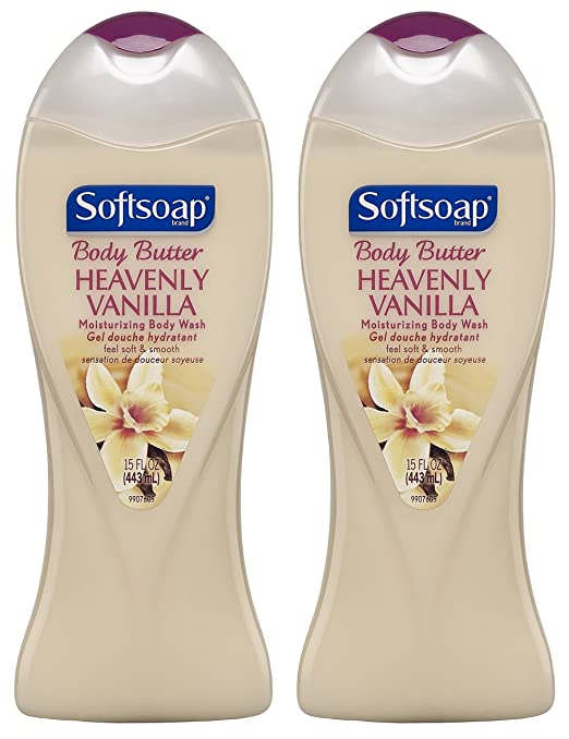 Softsoap Body Butter Body Wash - Heavenly Vanilla - 15 oz - 2 pk