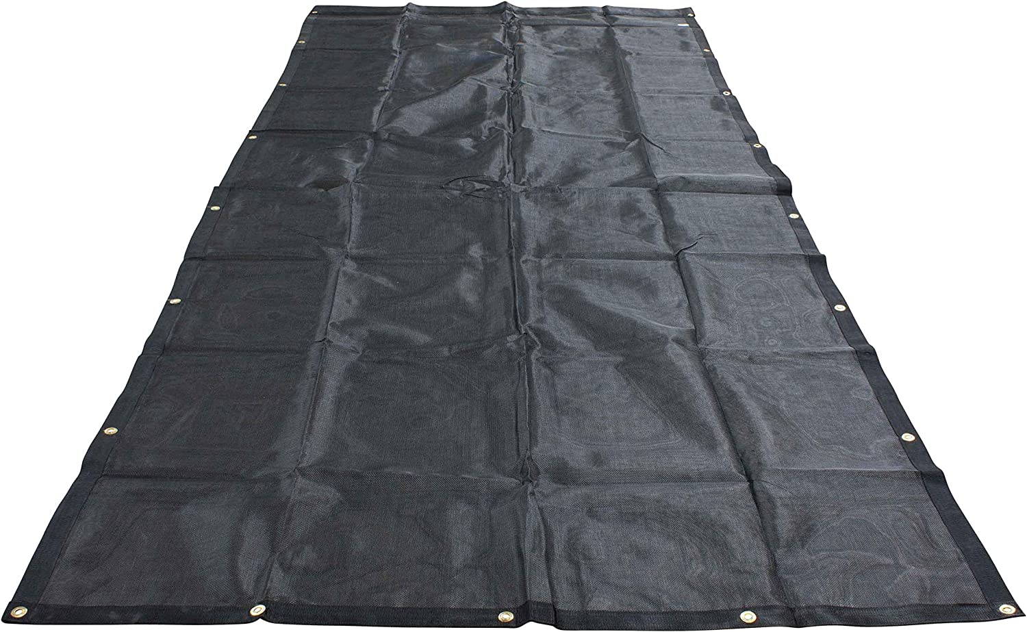 Mytee Products 7 x 12 Dump Truck Vinyl Coated Mesh Tarps Cover with 6 Inch 18oz Double Pocket