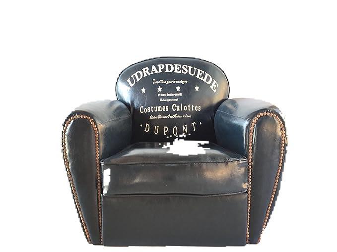 DiiliHiiri Sillón Vintage Azul Oscuro, sillón, butaca ...