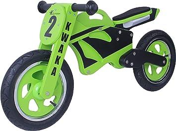 Kwaka madera bicicleta de equilibrio de la moto: Amazon.es: Juguetes y juegos