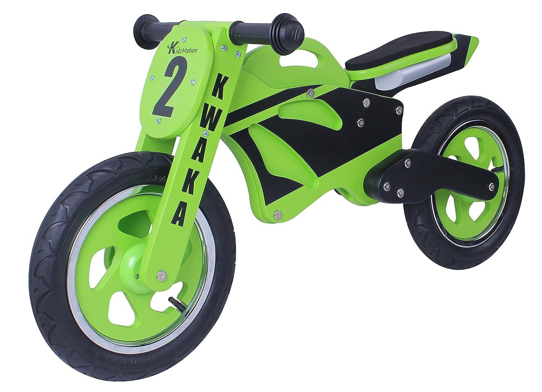 Kwaka Wooden Motorbike Balance Bike 2017 Model Toys