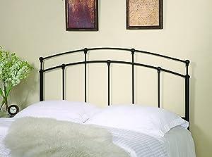 Coaster Home Furnishings Full/Queen Metal Headboard Black