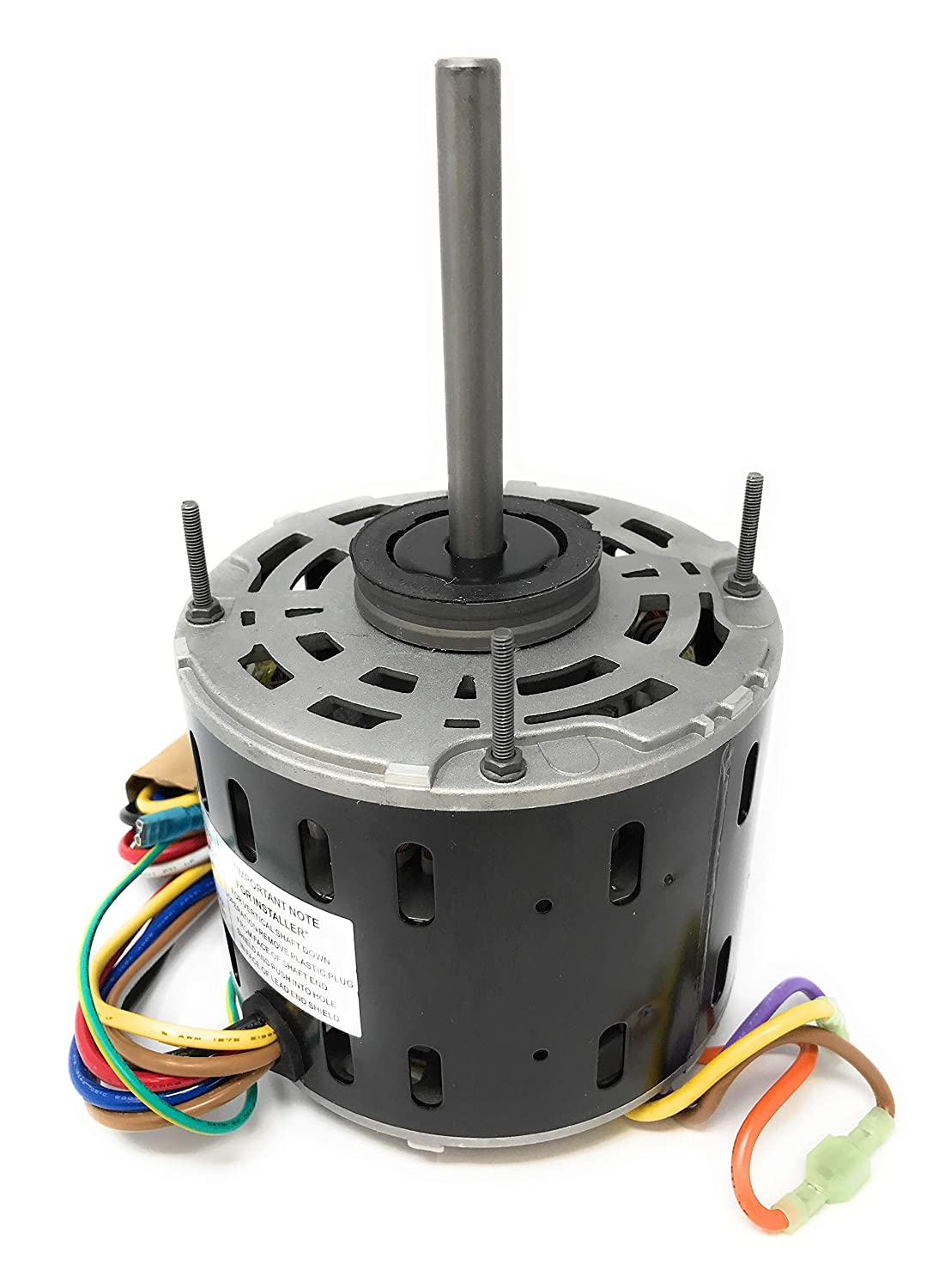 A1587, 1/2HP Furnace Blower Motor, 115V, 1075RPM