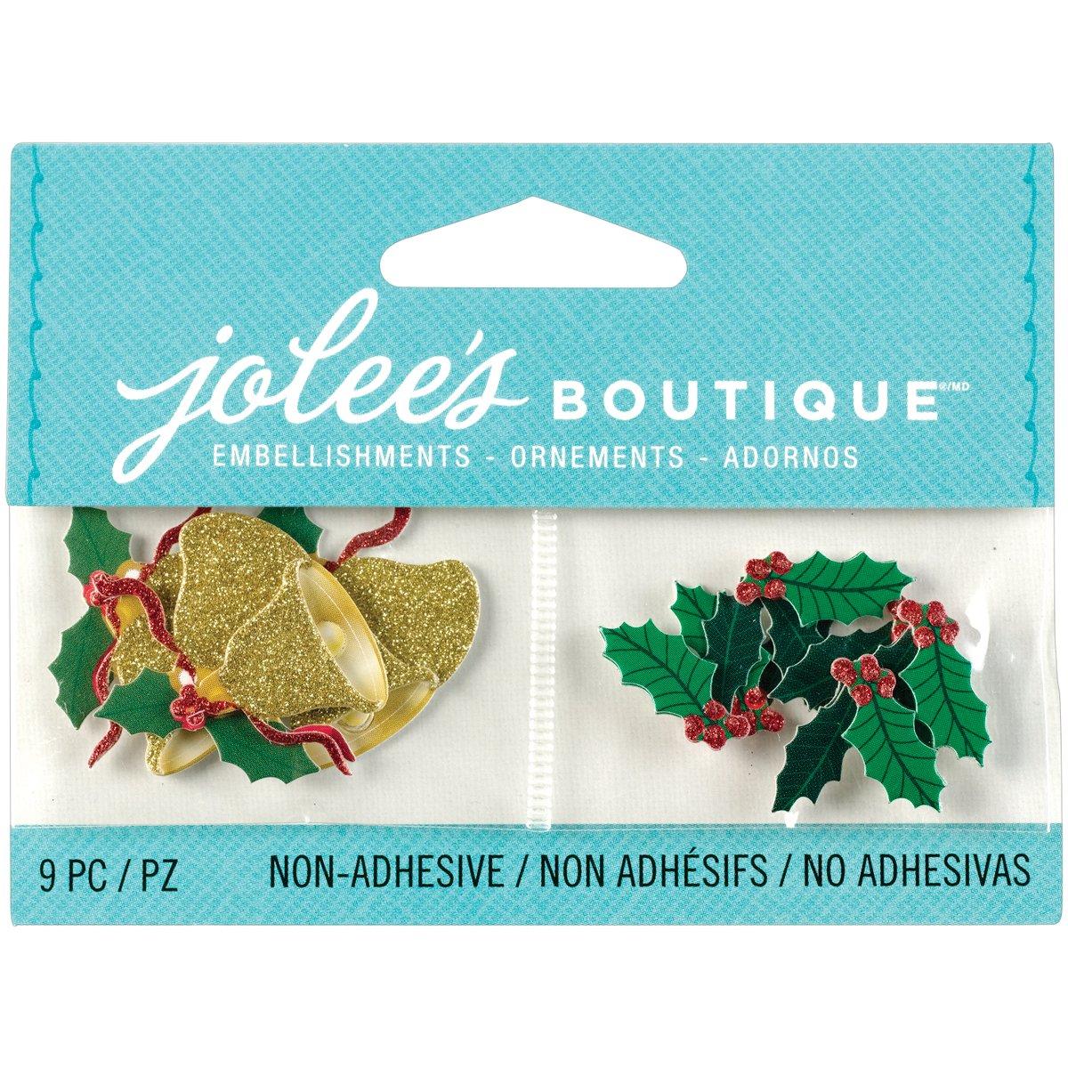 Jolee's Boutique 50-00624 Scrapbooking Embellishments, Mini Jingle Bells EKS