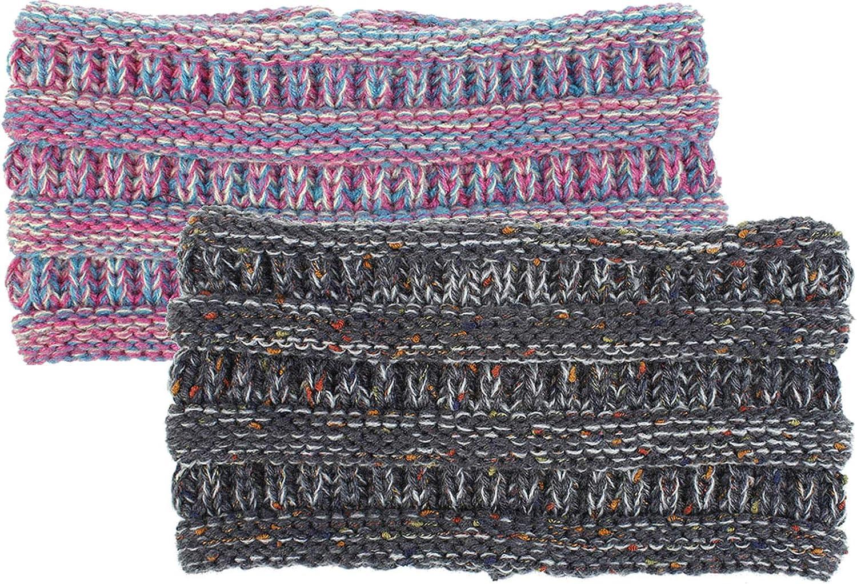 Ponytail-Headband Knit...