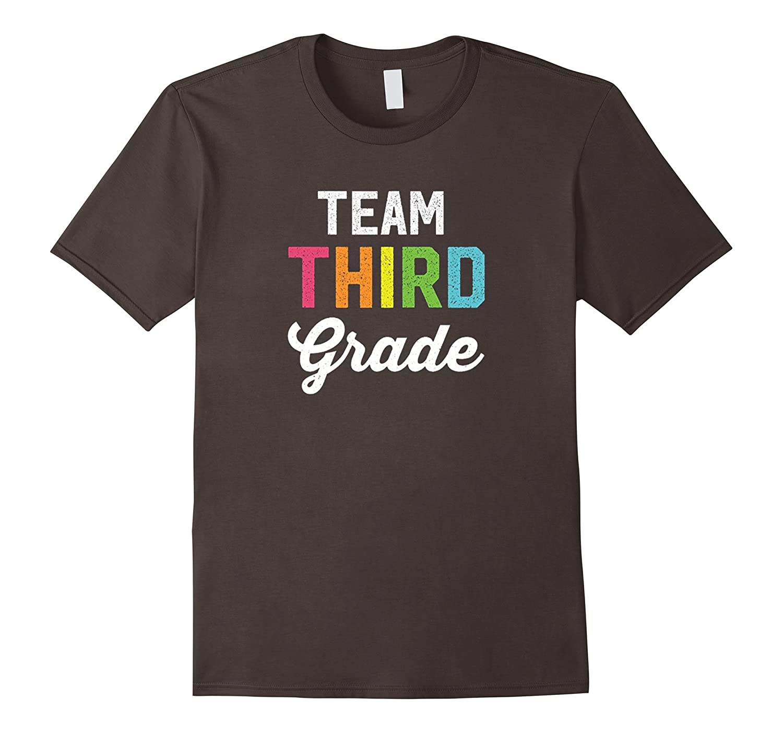 Team 3rd Third Grade Cute Back To School T-Shirt Gift-Teehay