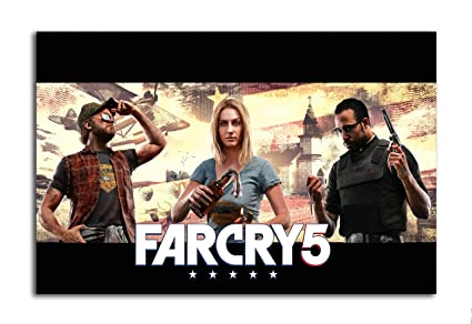 Tamatina Gaming Poster - Far Cry 5 - Cover - Poster for Room