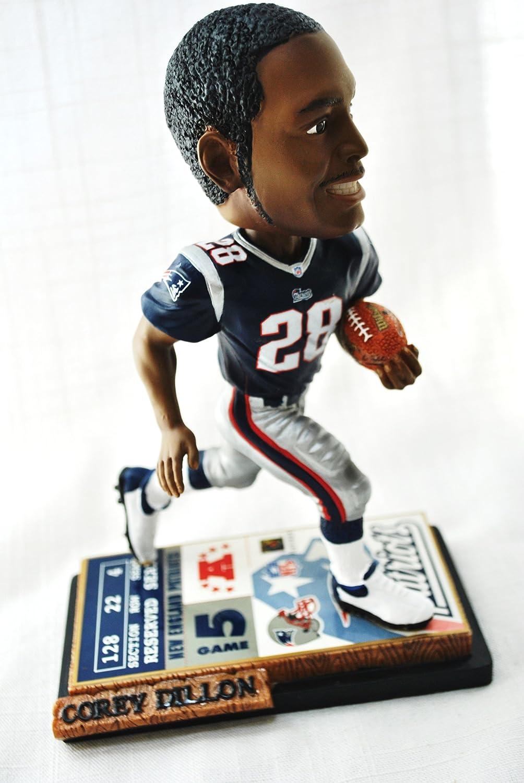 【返品不可】 新しいEngland Patriots公式NFL Patriots公式NFL # 28 Corey 28 Dillon Corey RareチケットベースアクションBobble Head B007VECEX4, キソサキチョウ:23d48b58 --- efichas.com.br