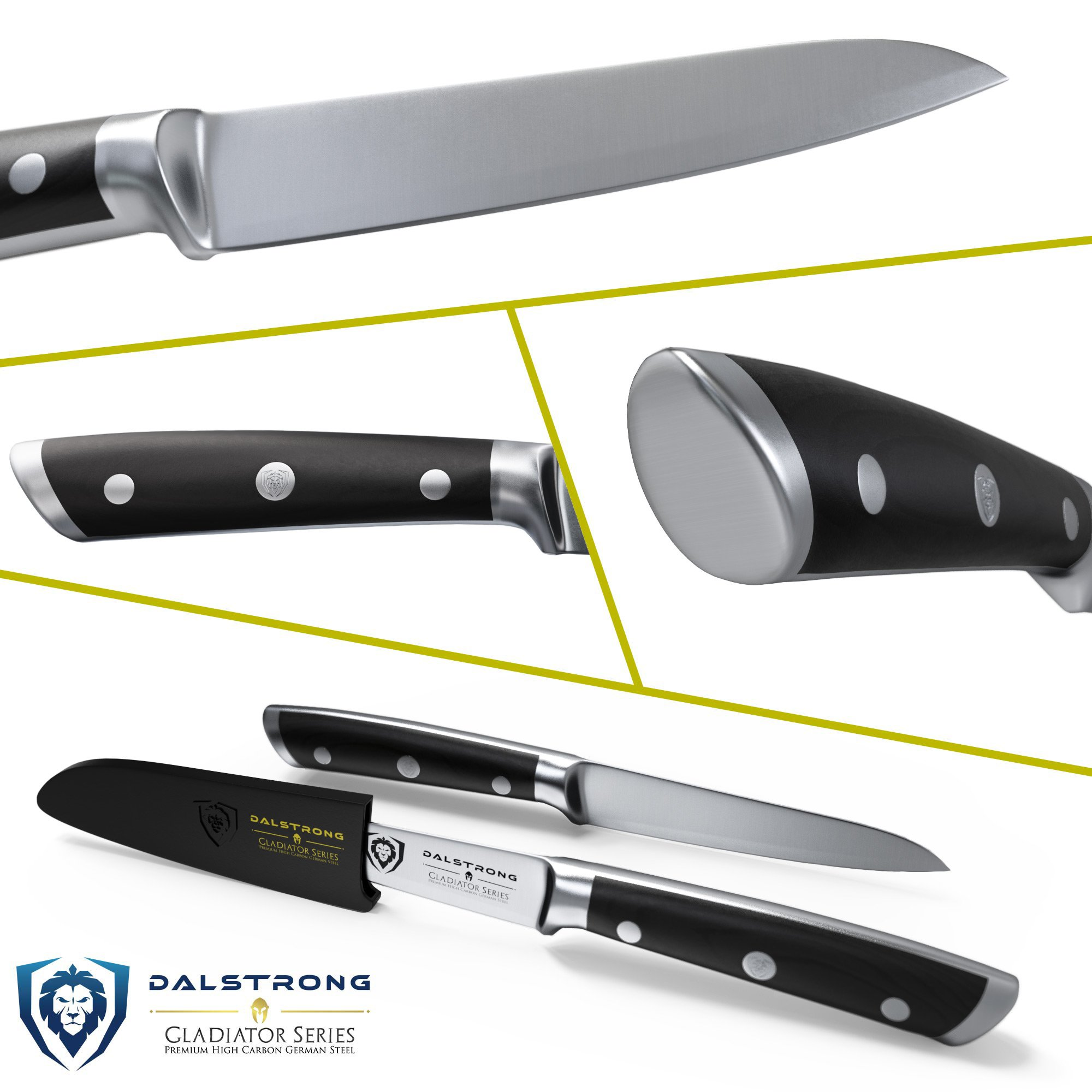DALSTRONG Paring Knife - Gladiator Series Paring Knife - German HC Steel - 3.75'' by Dalstrong (Image #2)